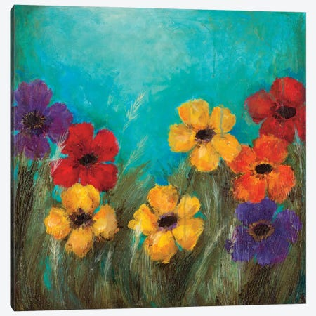 Happy Canvas Print #WAN35} by Wani Pasion Canvas Wall Art
