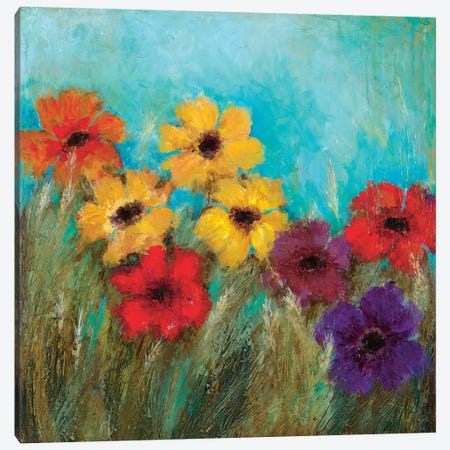 Happy Too Canvas Print #WAN36} by Wani Pasion Canvas Wall Art
