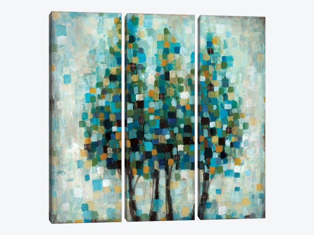 Into The Blue by Wani Pasion 3-piece Art Print