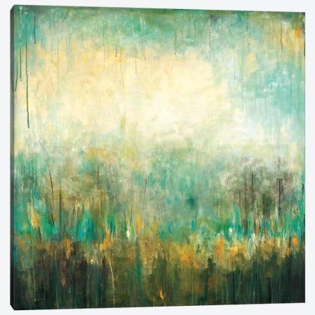 Jardin Vert Canvas Print #WAN38} by Wani Pasion Art Print
