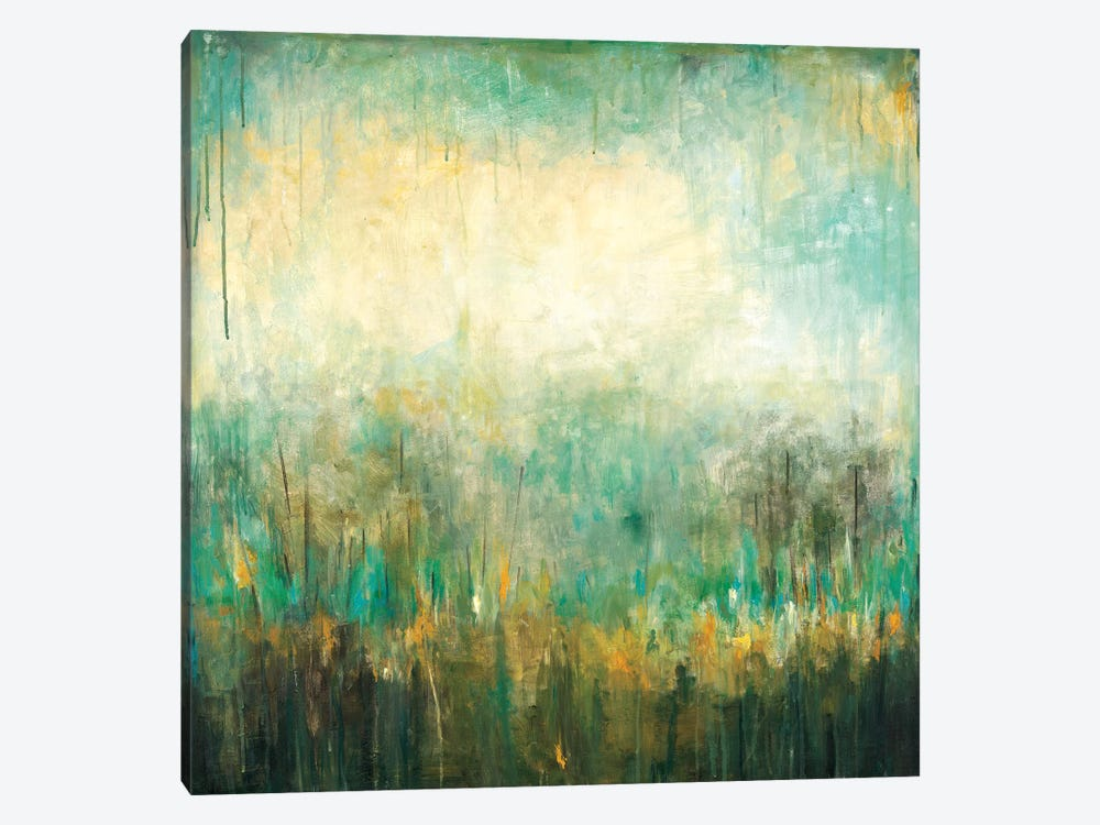 Jardin Vert by Wani Pasion 1-piece Canvas Art