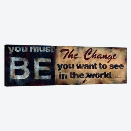 Be The Change Canvas Print #WAN3} by Wani Pasion Canvas Art