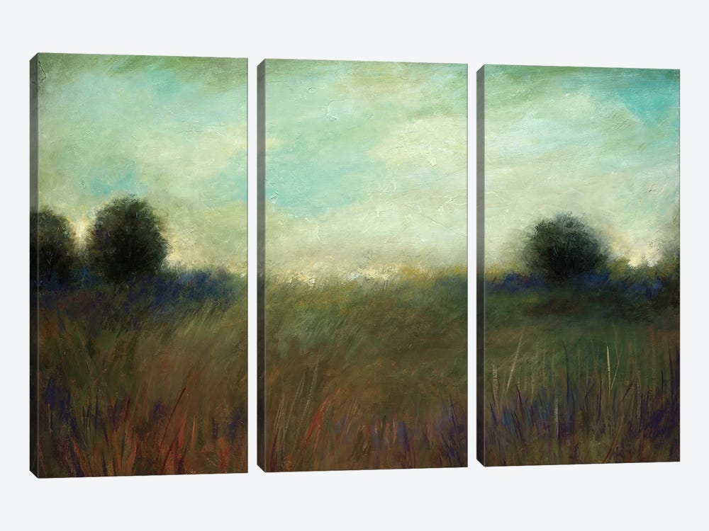Listen To The Wind Blow by Wani Pasion 3-piece Canvas Art Print