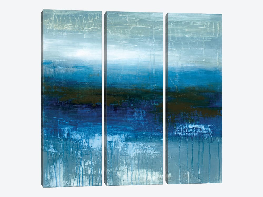 Mirror In The Sky by Wani Pasion 3-piece Canvas Print