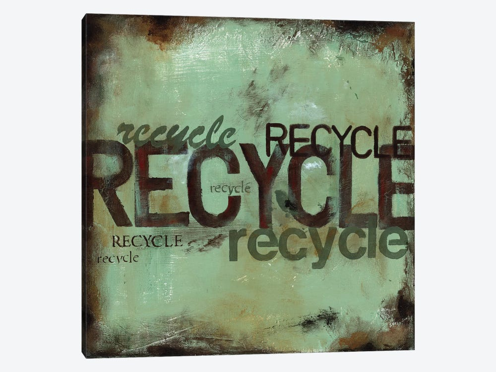 Recycle by Wani Pasion 1-piece Canvas Wall Art