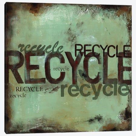 Recycle Canvas Print #WAN47} by Wani Pasion Canvas Art Print