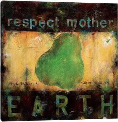 Respect Mother Earth Canvas Art Print