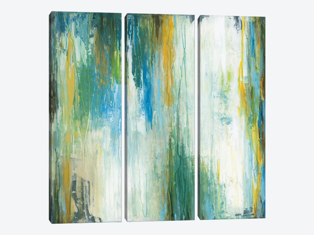 Blithe by Wani Pasion 3-piece Canvas Artwork