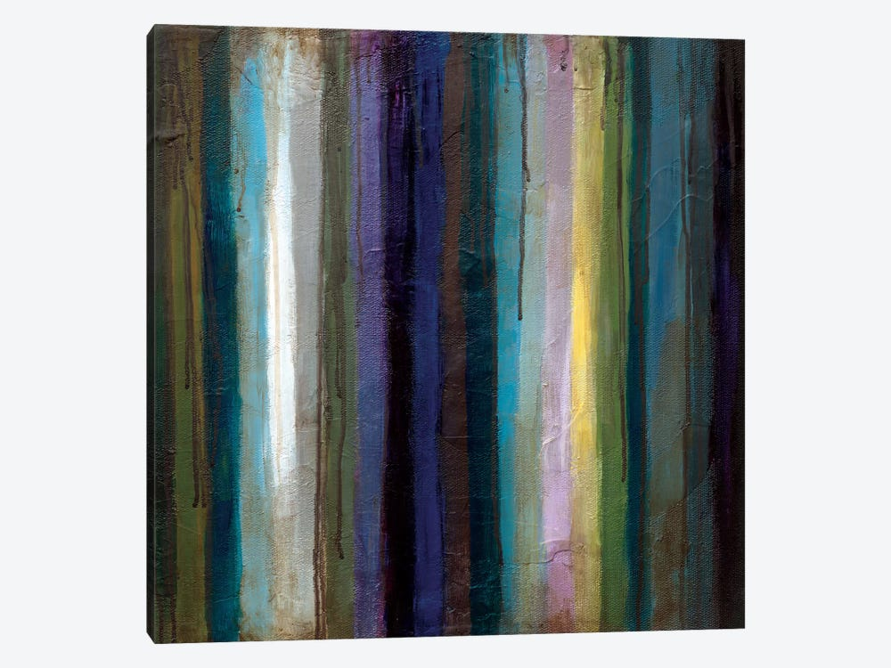 Striations II 1-piece Canvas Artwork