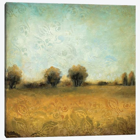 Summer Evening II Canvas Print #WAN54} by Wani Pasion Canvas Artwork