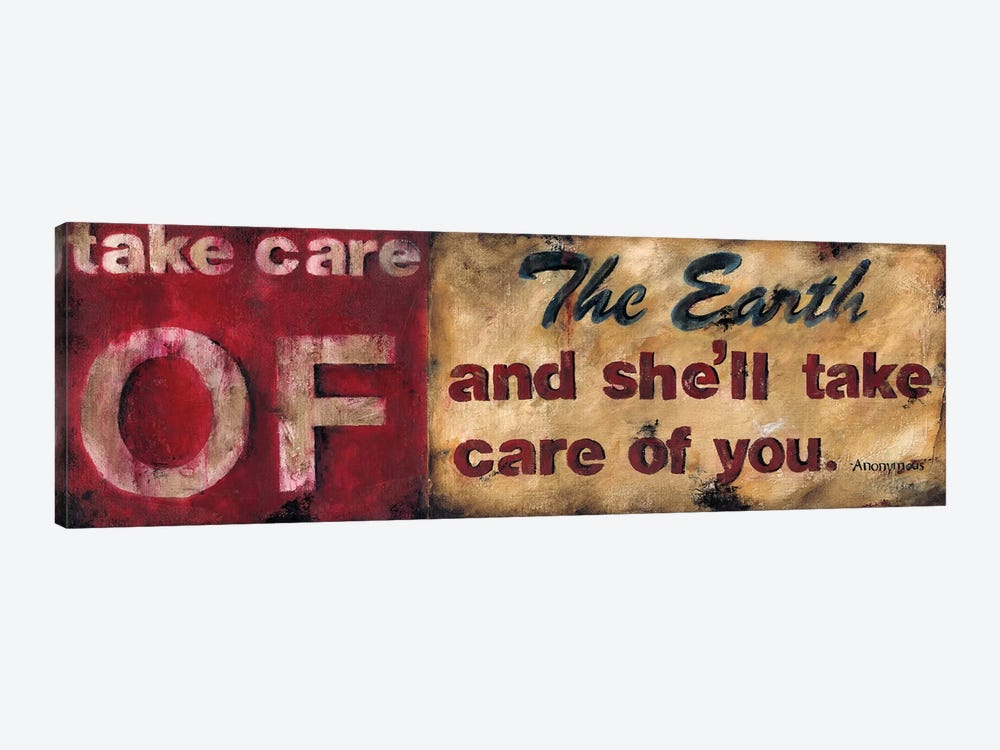 Take Care Of The Earth by Wani Pasion 1-piece Canvas Artwork