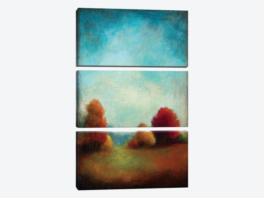 Through The Center by Wani Pasion 3-piece Art Print