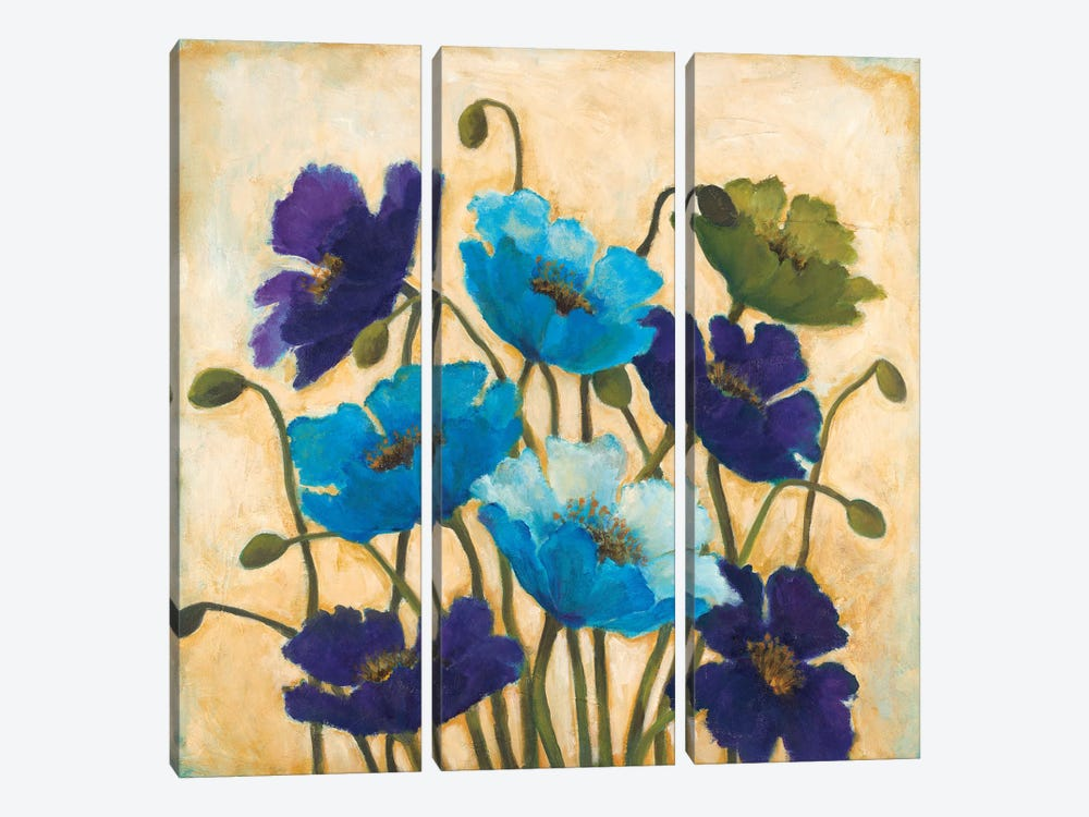 Bloom Where You Are Planted by Wani Pasion 3-piece Canvas Art Print