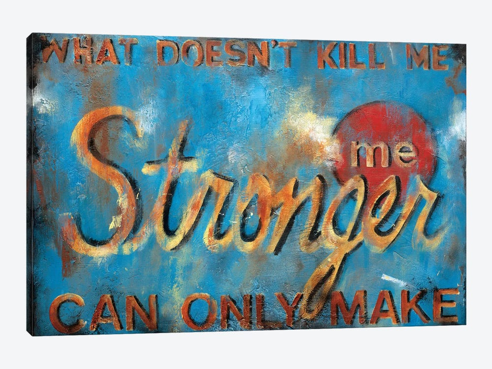 What Doesn't Kill Me by Wani Pasion 1-piece Canvas Print