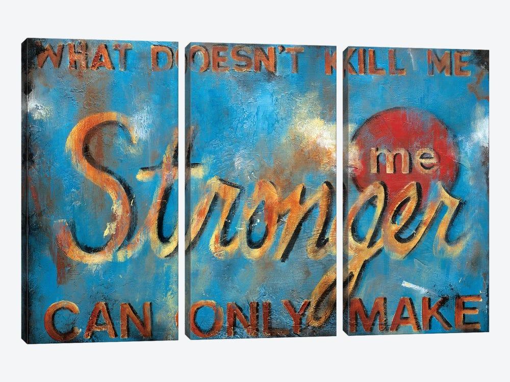 What Doesn't Kill Me by Wani Pasion 3-piece Art Print