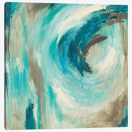 Blue Hawaii Canvas Print #WAN61} by Wani Pasion Canvas Art