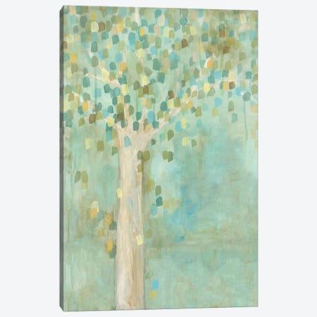 Tree Illusion Canvas Print #WAN63} by Wani Pasion Canvas Wall Art
