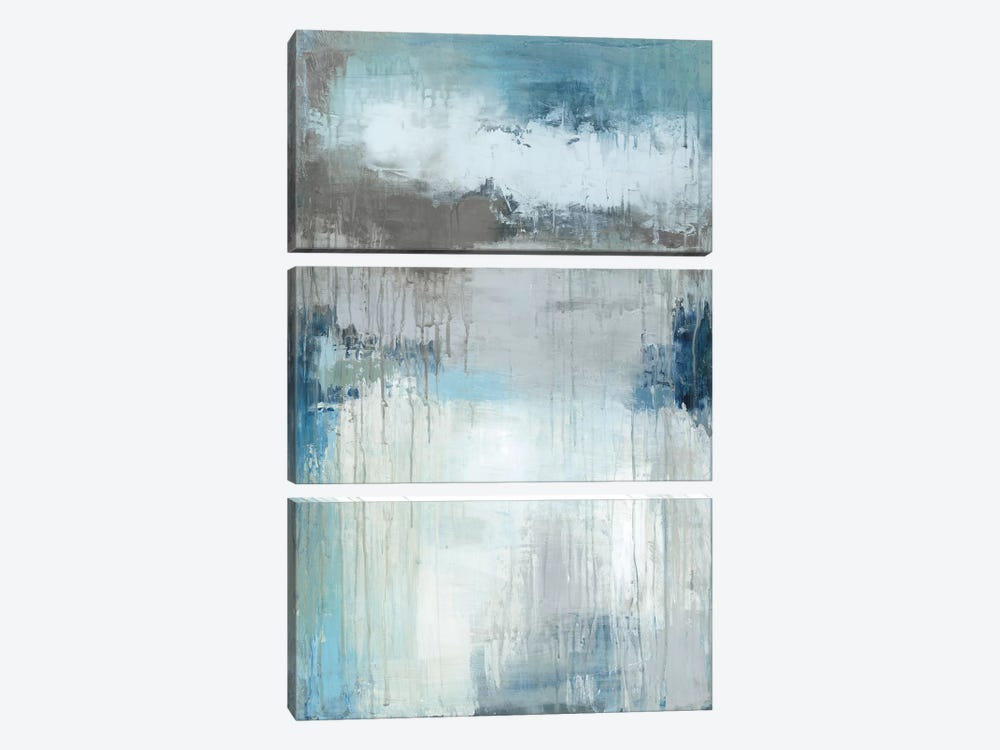 Wash My Blues Away by Wani Pasion 3-piece Canvas Art Print