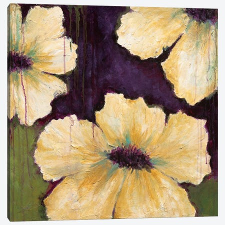 Blooms I Canvas Print #WAN6} by Wani Pasion Art Print