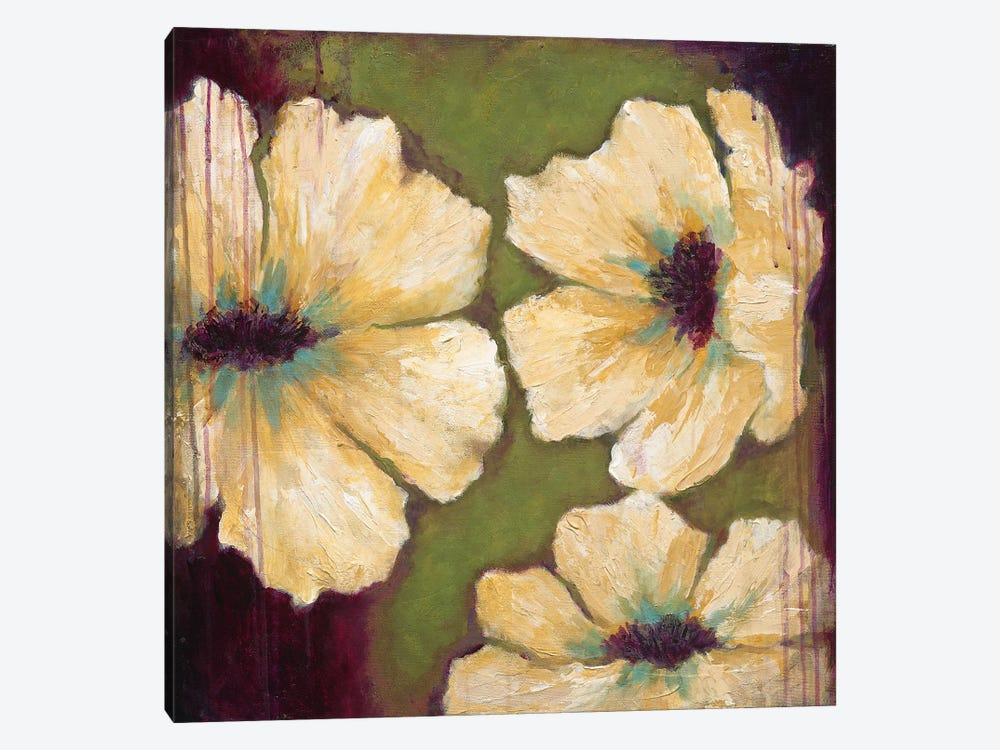 Blooms II by Wani Pasion 1-piece Canvas Print