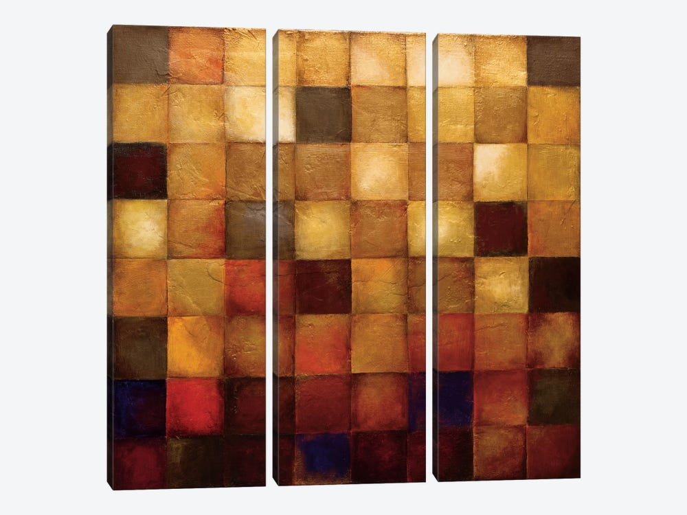 Cerveny 3-piece Canvas Art