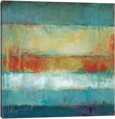 Color Block Canvas Art Print