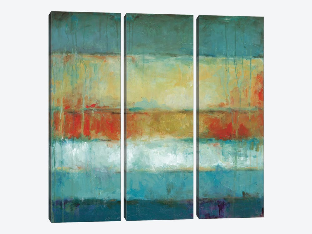 Color Block by Wani Pasion 3-piece Art Print