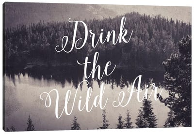 Drink The Wild Air Canvas Art Print