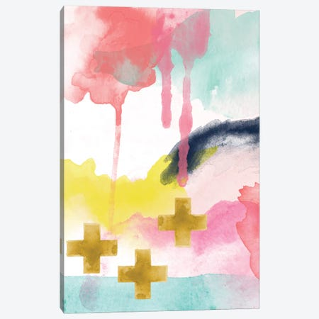 Faith Abstract I Canvas Print #WAO16} by Willow & Olive Canvas Print