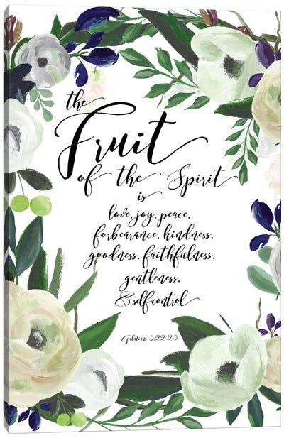Fruit Of The Spirit - Galatians 5:22-23 Canvas Art Print