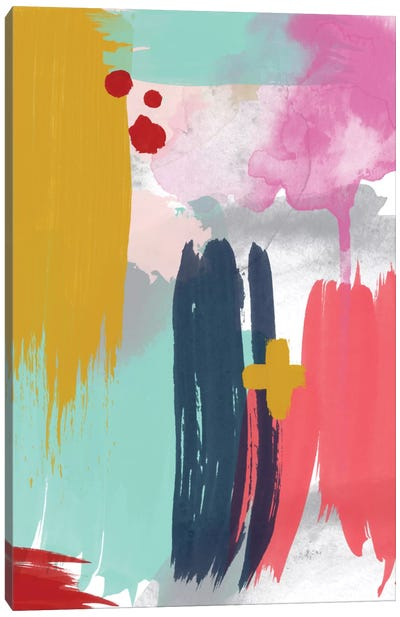 Grace Abstract V Canvas Art Print