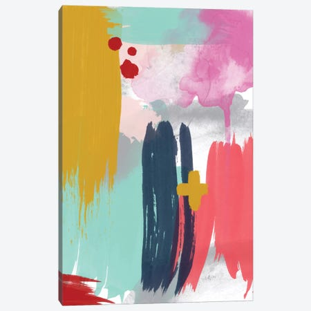 Grace Abstract V Canvas Print #WAO18} by Willow & Olive Canvas Artwork