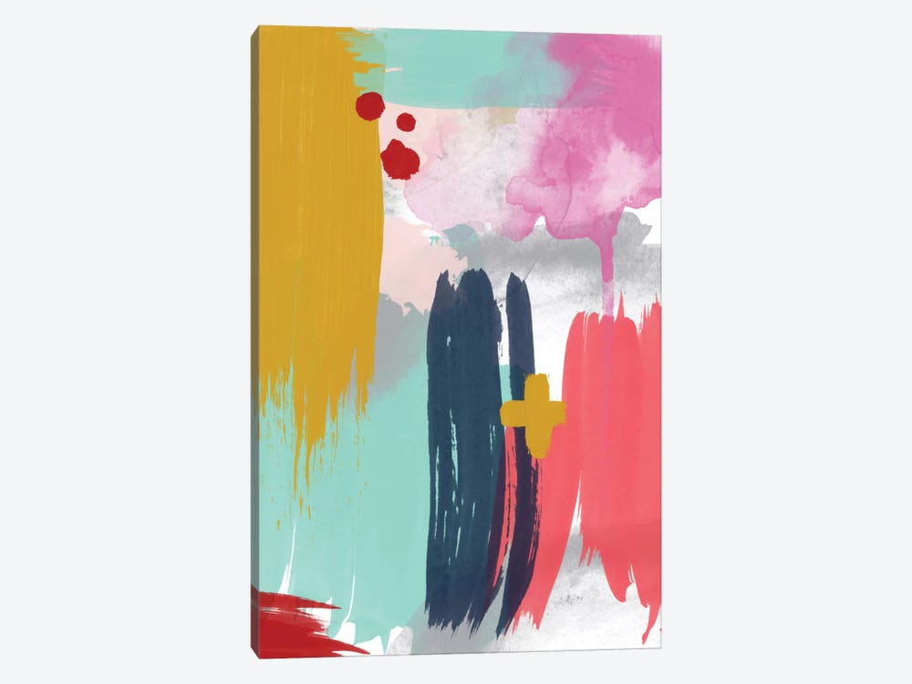 Grace Abstract V by Willow & Olive 1-piece Canvas Art Print