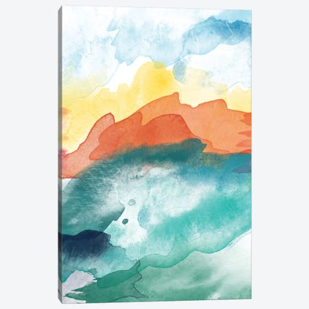 High Tide Abstract III Canvas Print #WAO23} by Willow & Olive Canvas Print