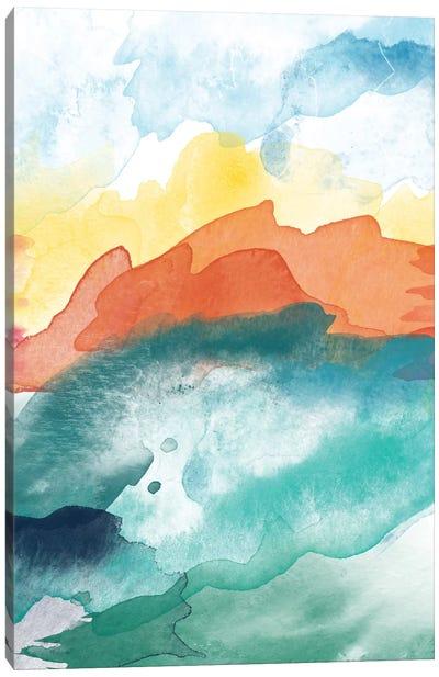 High Tide Abstract III Canvas Art Print