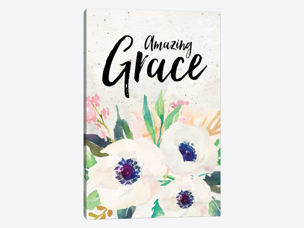 Amazing Grace by Willow & Olive 1-piece Canvas Print