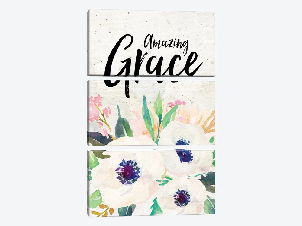 Amazing Grace by Willow & Olive 3-piece Canvas Print