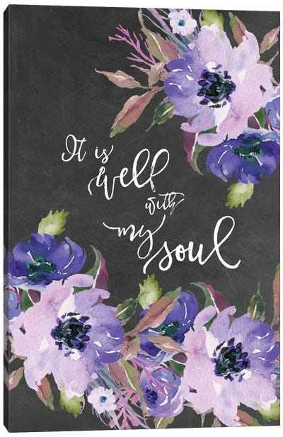 It Is Well With My Soul Canvas Art Print