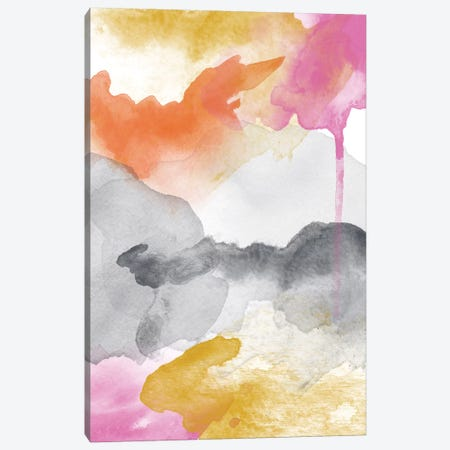 Morning Joy Abstract II Canvas Print #WAO45} by Willow & Olive Canvas Artwork