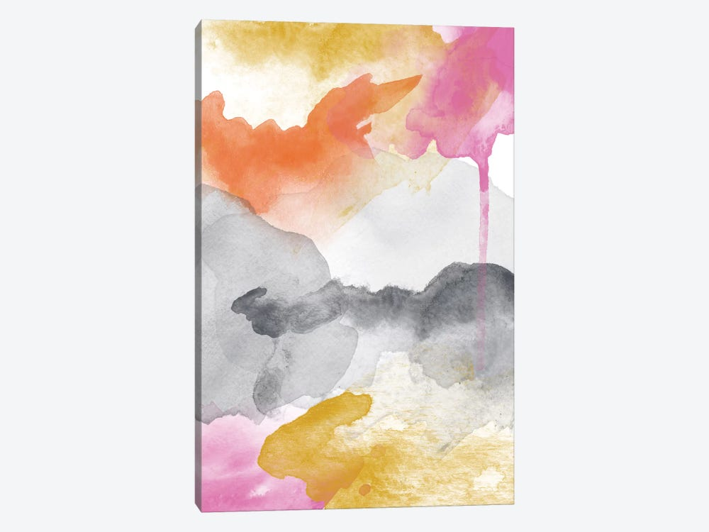 Morning Joy Abstract II by Willow & Olive by Amy Brinkman 1-piece Canvas Print