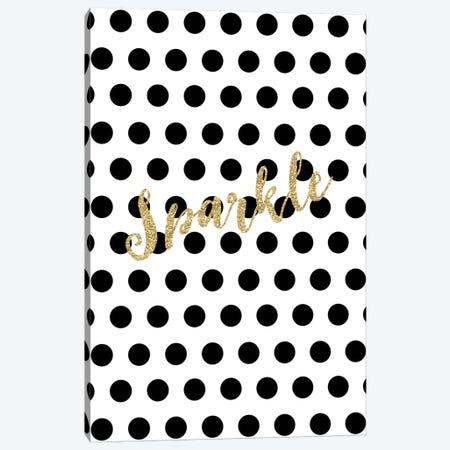 Sparkle Gold Canvas Print #WAO60} by Willow & Olive by Amy Brinkman Canvas Print