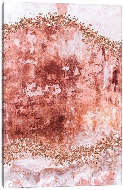 Rose-Gold-Gems-Blush Canvas Art Print