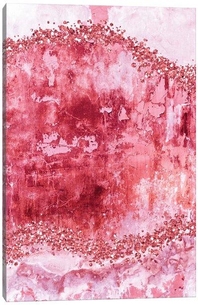 Rose-Gold-Gems-Bubblegum Canvas Art Print