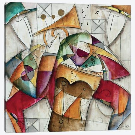 Jam Session I Canvas Print #WAU10} by Eric Waugh Canvas Wall Art