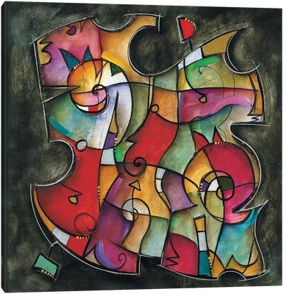 Noir Duet I Canvas Art Print