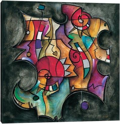 Noir Duet II Canvas Art Print