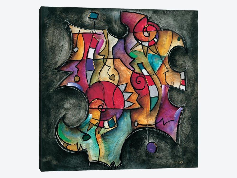 Noir Duet II by Eric Waugh 1-piece Canvas Print