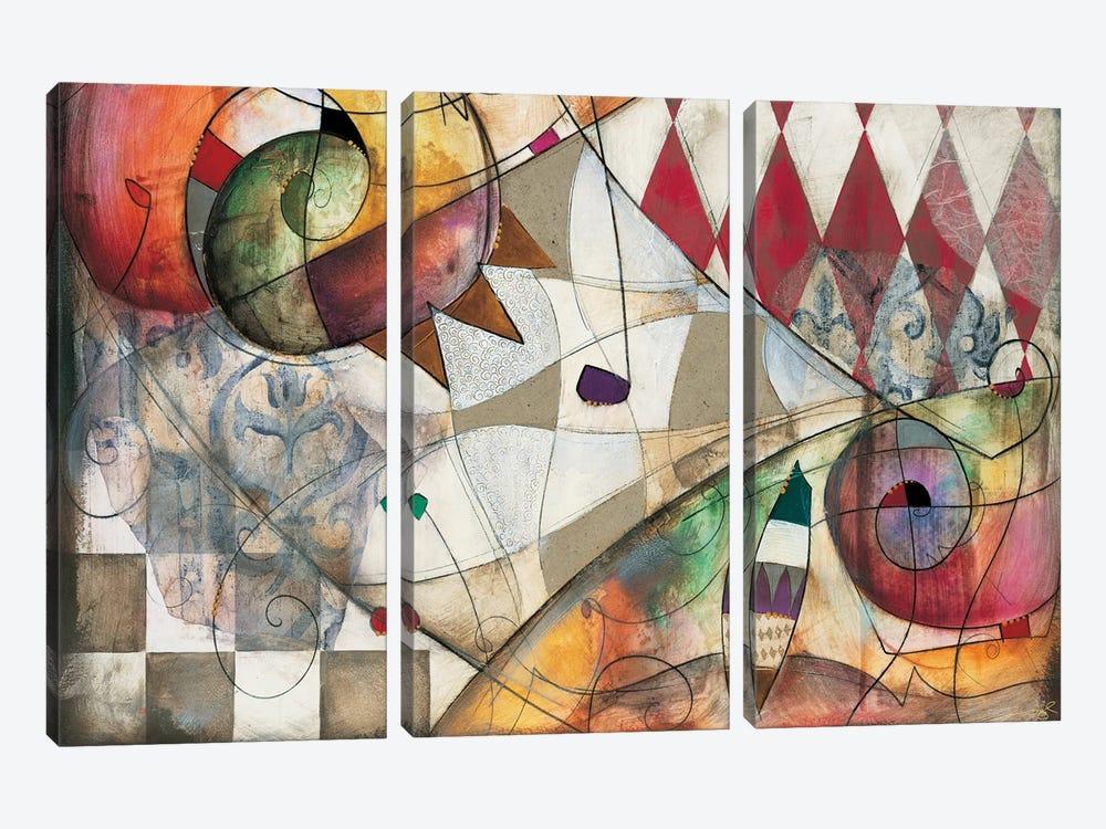 Premiere I by Eric Waugh 3-piece Art Print