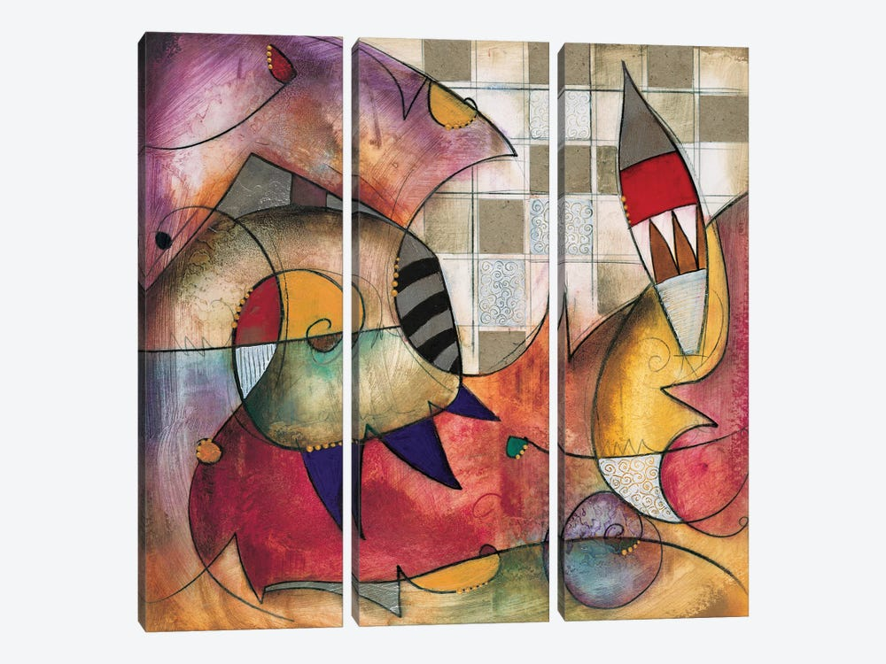 Primo I by Eric Waugh 3-piece Canvas Print