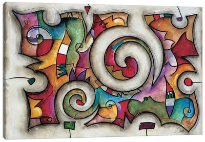 Quadra Canvas Art Print